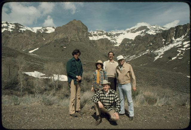 Fieldwork Team Near Hinkey Summit