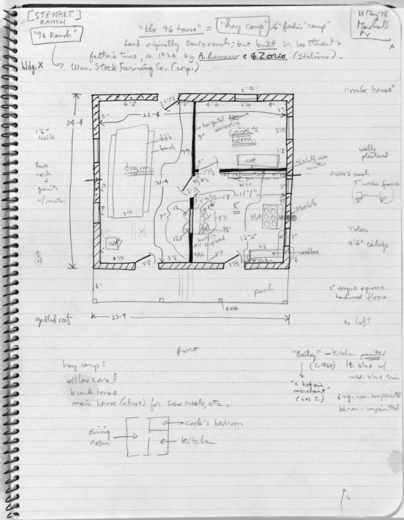 House Plan, Ninety-Six Ranch - Liry Of Congress Public ... on ranch brick house plans, ranch kitchen house plans, ranch log cabin plans, ranch cottage plans, ranch deck house plans, ranch double house plans,