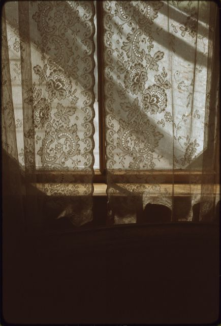 Lace Curtains, Stock-Stewart Residence, Ninety-Six Ranch