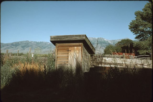 Outhouse, Ninety-Six Ranch