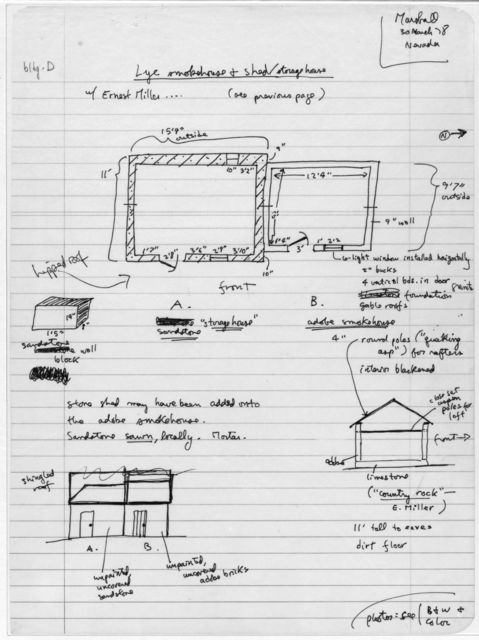 Smokehouse and Shed Plan