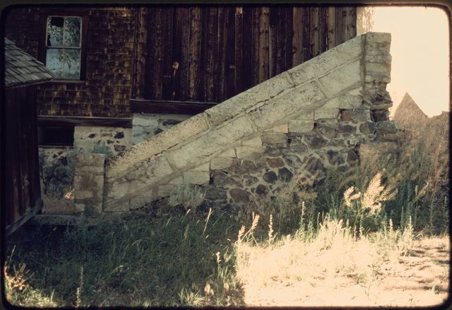 Stone Steps Leading to Cottonwood Creek