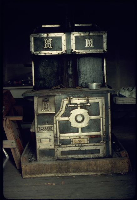 Stove in Bunkhouse