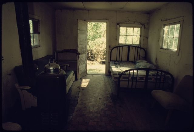 Bunkhouse Interior, Cassinelli Brothers Ranch