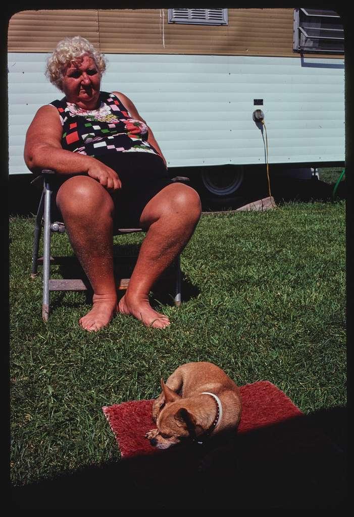 Campground activities, Fort Getty Campground, Jamestown, Rhode Island