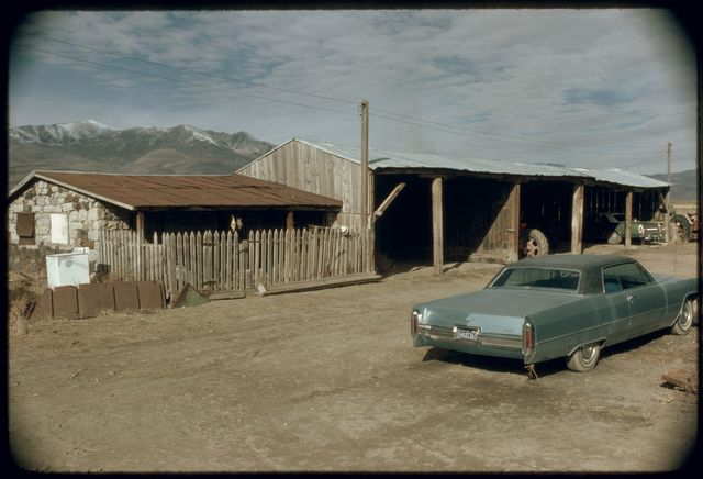 Chicken House and Equipment Storage Shed, Ferraro Ranch