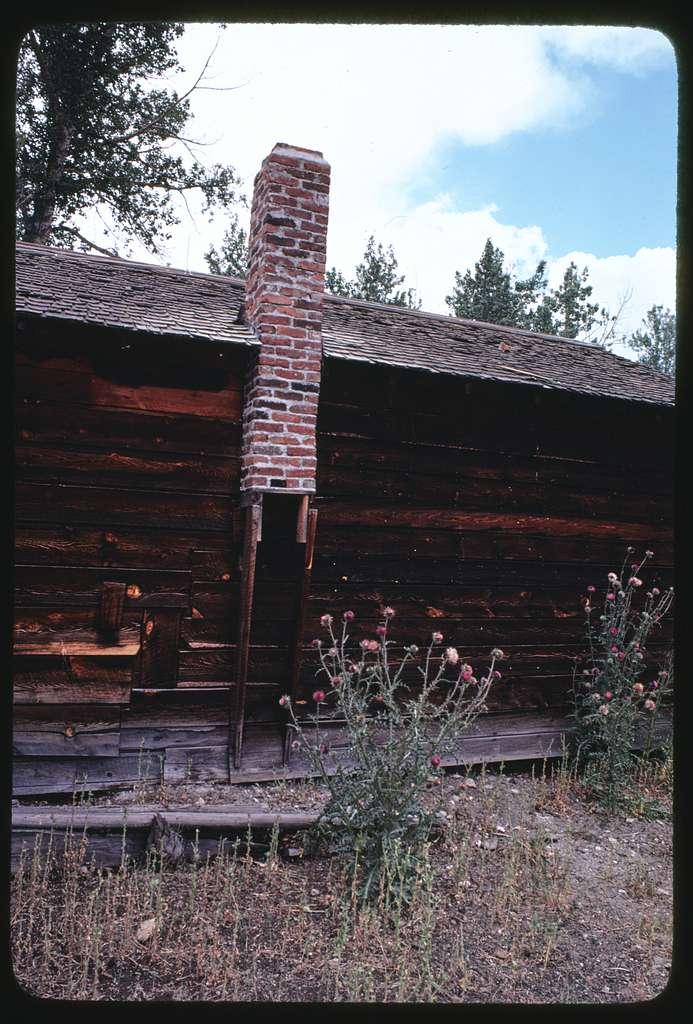 Johnny Senecal (Ranch outside Avon, Montana); Beaverslide stacker