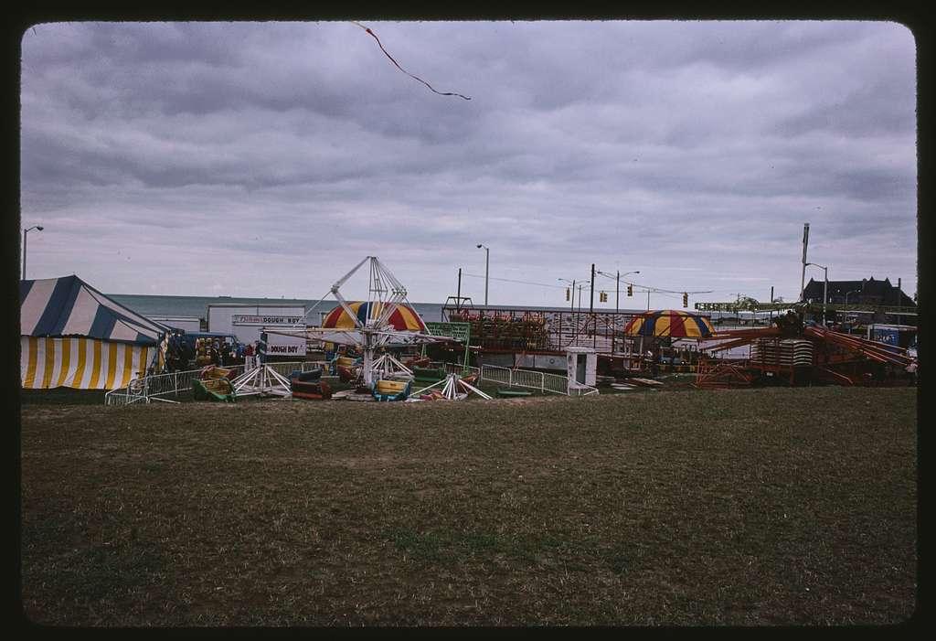 Narragansett Town Hall mural; Narragansett Village Midway Festival, Art & Craft tent, Narragansett, Rhode Island
