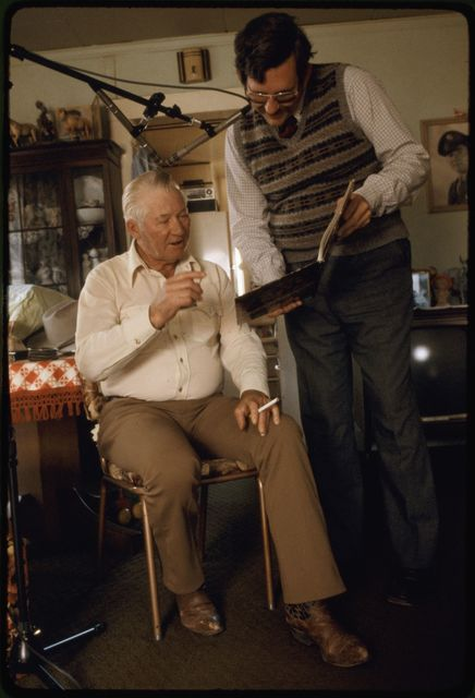 """Portrait of Reinhold """"Tex"""" Bonnet and Keith Cunningham"""