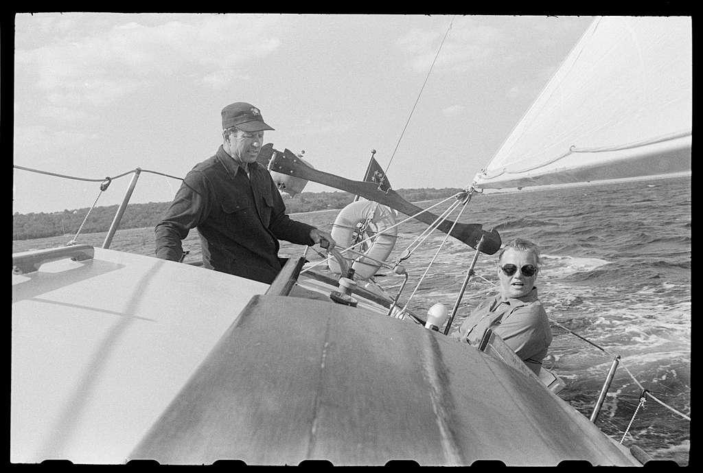 Sailing, Narragansett, Rhode Island; Thomas Pierce's home, James McCarthy's backyard and portraits, Wickford, Rhode Island
