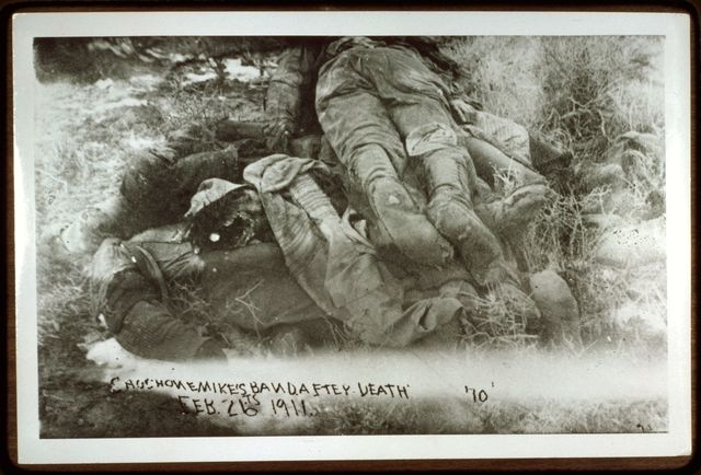 Shoshone Mike's Band after Death; February 26, 1911