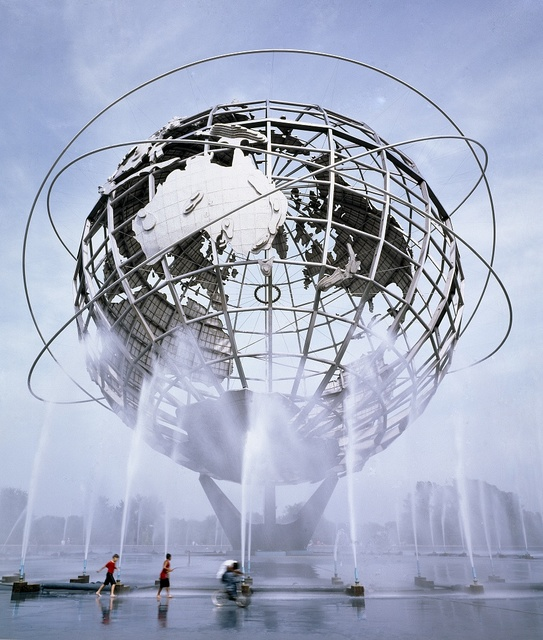 1964 New York World's Fair site in Queens, New York