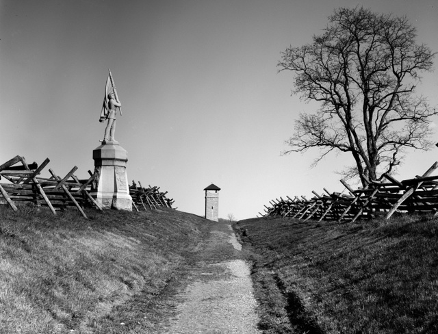 "Antietam Battle Field, ""Bloody Lane,"" Sharpsburg, Maryland"