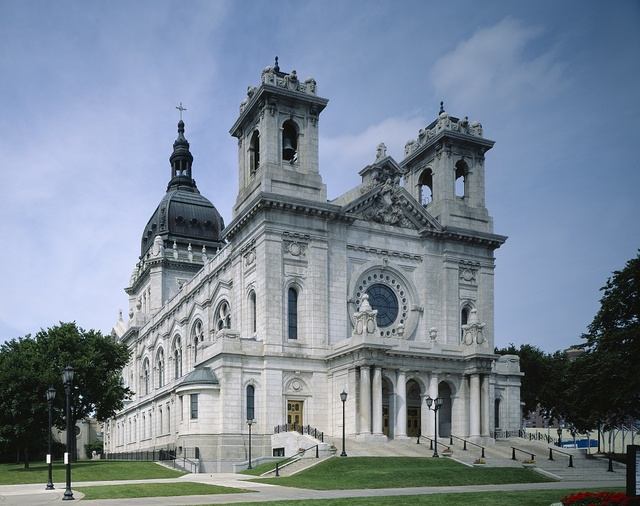 Basilica of Saint Mary, Loring Park, Minneapolis, Minnesota