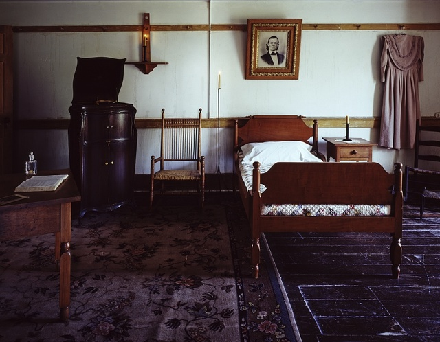 Bedroom, Shaker Village at Pleasant Hill or Shakertown, Kentucky