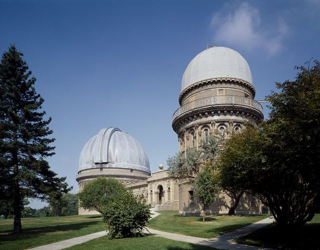Birthplace of Astrophysics, the University of Chicago's Yerkes Observatory, Williams Bay, Wisconsin