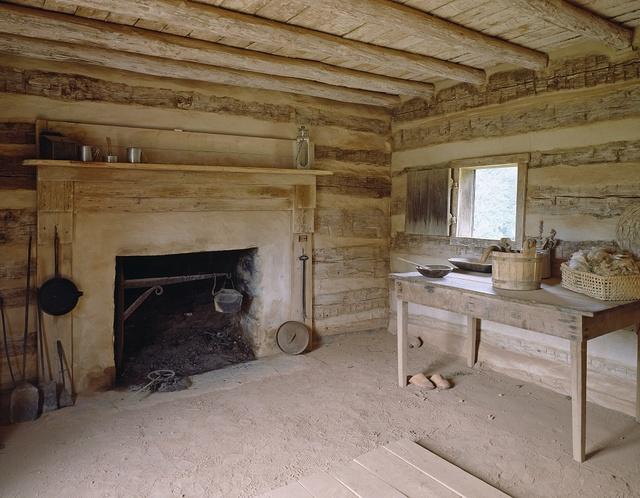 Booker T. Washington cabin, Hardy, Virginia