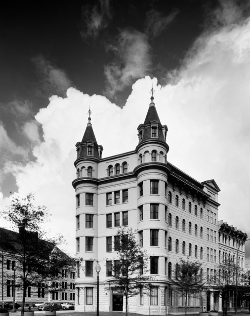 Building on Pennsylvania Avenue long known as Sears House because it was the Washington, D.C., office of the national retailer. Famed Civil War photographer Mathew Brady kept his portrait studio in this building
