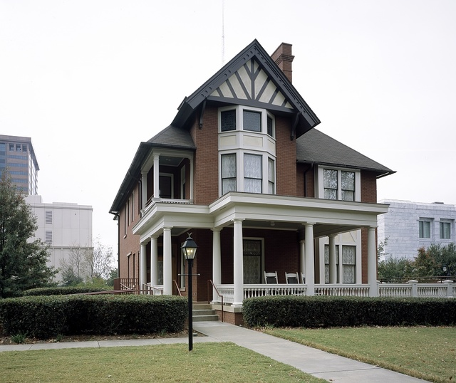 """Building where Margaret Mitchell wrote her Pulitzer Prize-winning novel """"Gone With the Wind"""" in Atlanta, Georgia"""