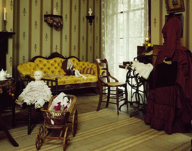 Child's room at the Manship House, built by Thomas Manship, a future Jackson mayor and postmaster of the Confederacy in Jackson, Mississippi