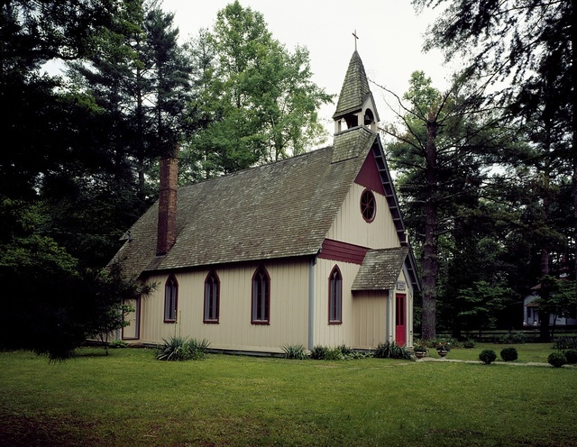 Christ Church Episcopal at Historic Rugby, a settlement of idealistic Americans and Britons that began in 1879 in Rugby, Tennessee