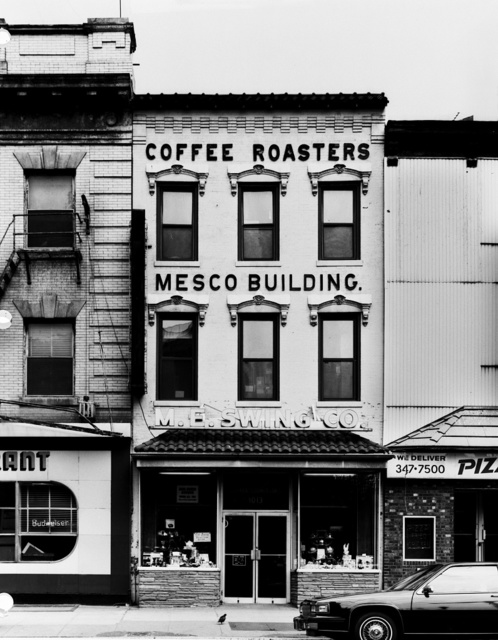 Coffee Roasters and other stores at 11th and E Streets, N.W., Washington, D.C.