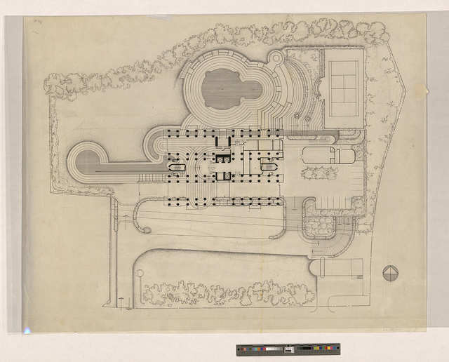 [Colonnade Condominium, Grange Road and Orchard Road, Singapore. Site plan]