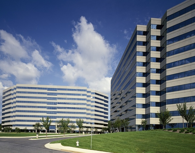 Commercial office buildings, Rockville, Maryland