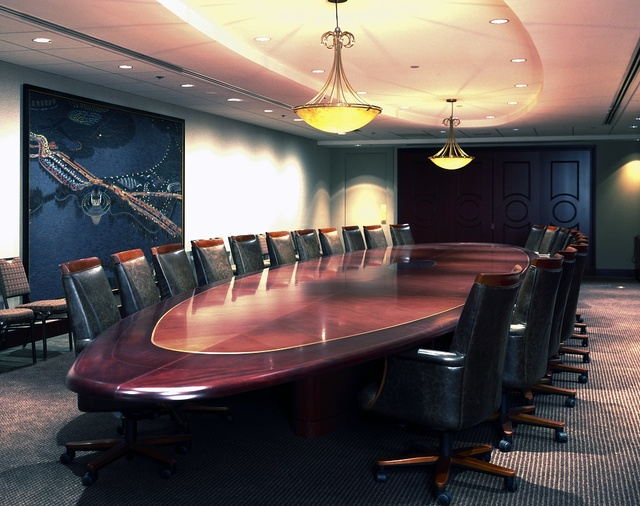 Corporate conference room