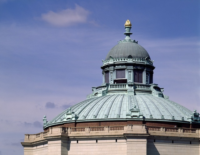 Dome of the Library of Congress Thomas Jefferson Building, Washington, D.C.