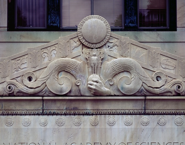 Doorway detail from the National Academy of Sciences, Washington, D.C.