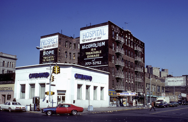 E. 149th St. at Prospect Ave., South Bronx, 1980