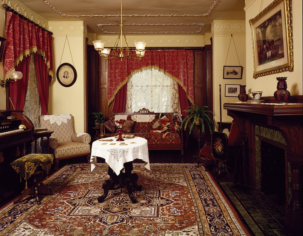 Emlen Physick House is a Victorian house museum located at 1048 Washington Street in Cape May, New Jersey
