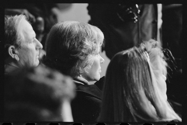 [First Lady Rosalynn Carter at President Carter's press conference]