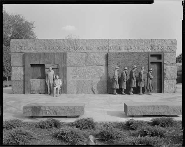 [Franklin D. Roosevelt Memorial, Washington, D.C.]