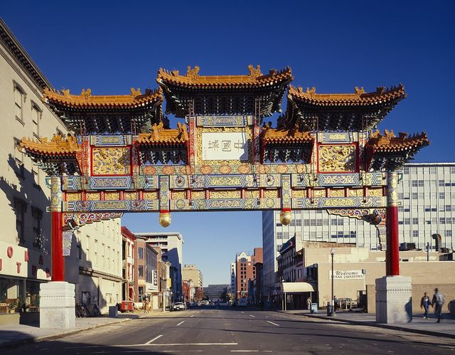 Friendship Arch in Washington, D.C.'s Chinatown
