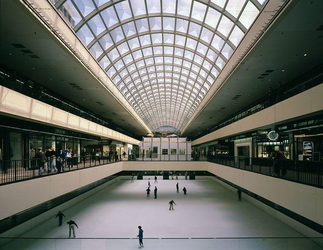 Galleria ice rink, Houston, Texas