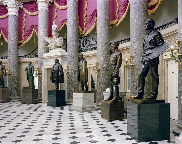 Hall of Statues at the U.S. Capitol, Washington, D.C.