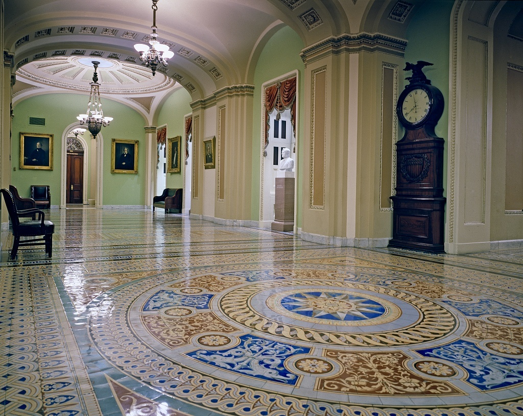 Hallway, U.S. Capitol, Washington, D.C.