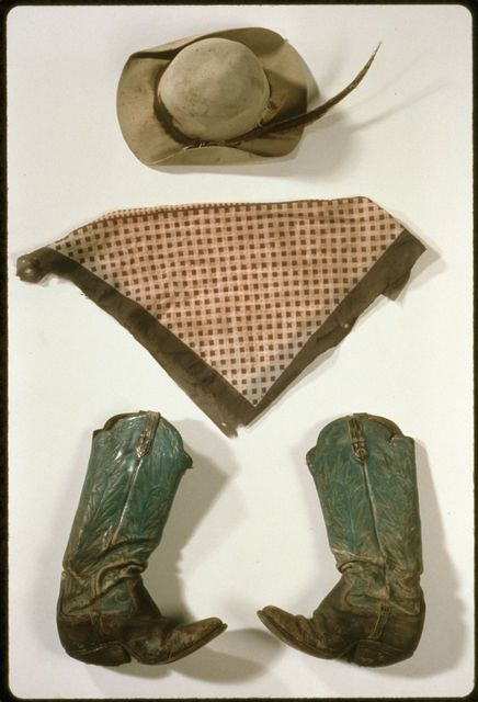 Hat, Neckerchief, and Boots