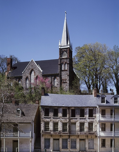 Headquarters and psychological mid-point of the Appalachian Trail, Harpers Ferry, West Virginia