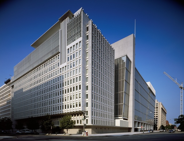 Headquarters building of the International Monetary fund, Washington, D.C.