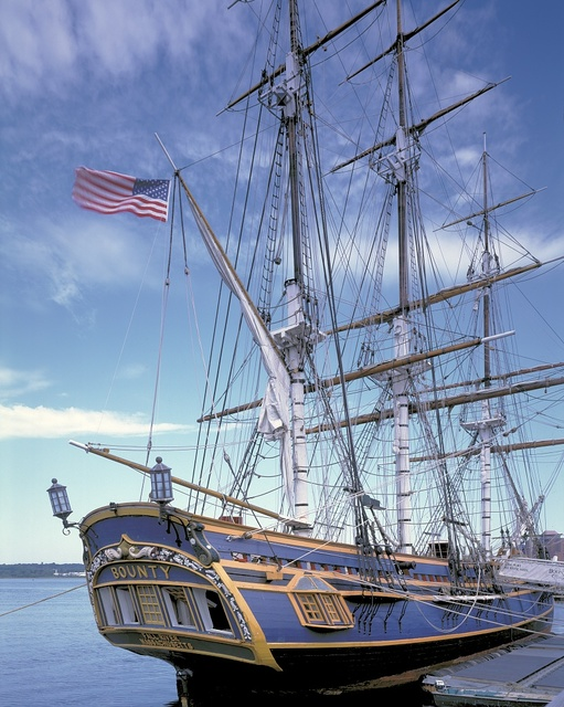HMS Bounty, Fall River, Massachusetts