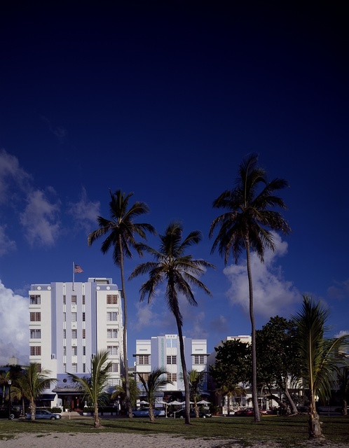 "Hotels on ""South Beach,"" Miami Beach, Florida"