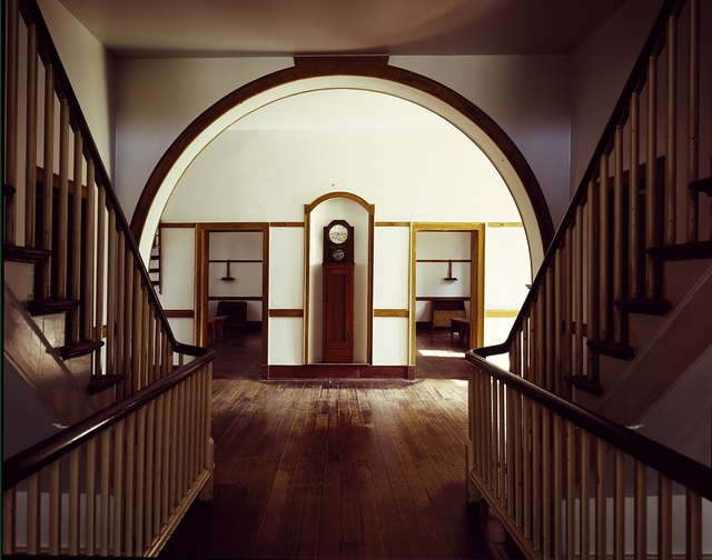 Interior view of the 1824 Center House at Shakertown, South Union, Kentucky