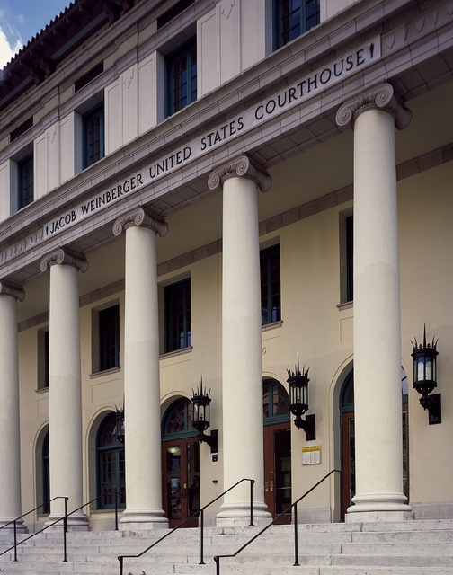 Jacob Weinberger Federal Courthouse in San Diego, California