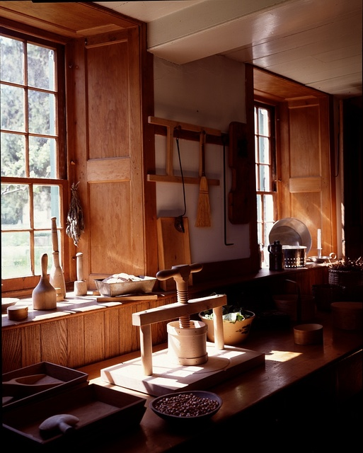 Kitchen at Hancock Shaker Village, Pittsfield, Massachusetts