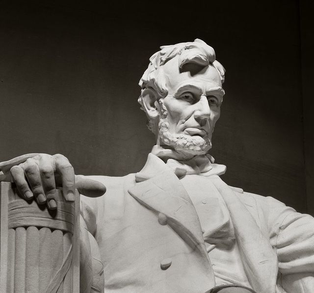 Lincoln Memorial statue by Daniel Chester French, Washington, D.C.