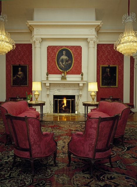 Living room in the residence of the Ambassador of Spain, Washington, D.C.