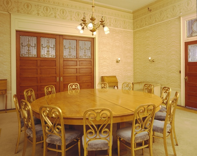 Meeting room at the Mount Washington Hotel, Bretton Woods, New Hampshire